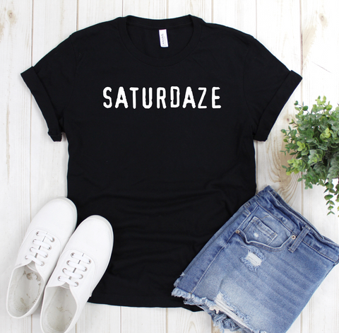 SATURDAZE T Shirt - Mugged Write Off