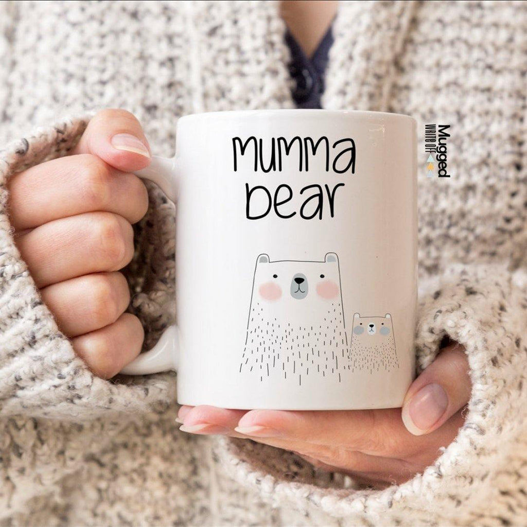Mumma Bear & Baby Bear Mug - Mugged Write Off Limited