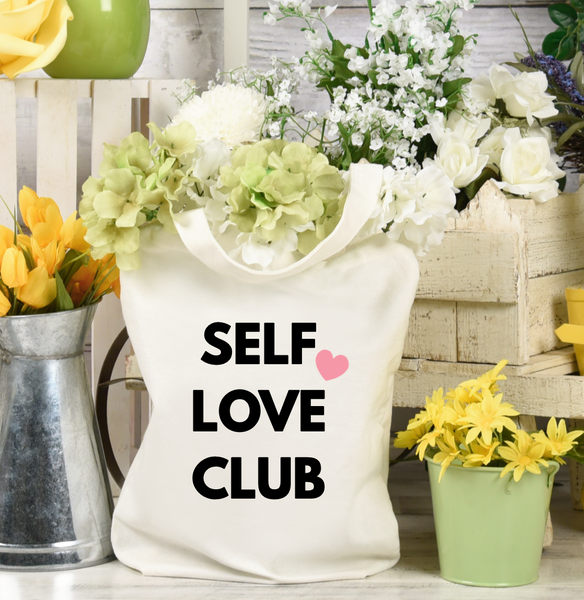 Self Love Club Tote Bag - Mugged Write Off
