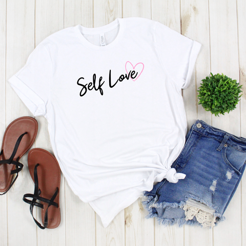 Self Love T Shirt - Mugged Write Off