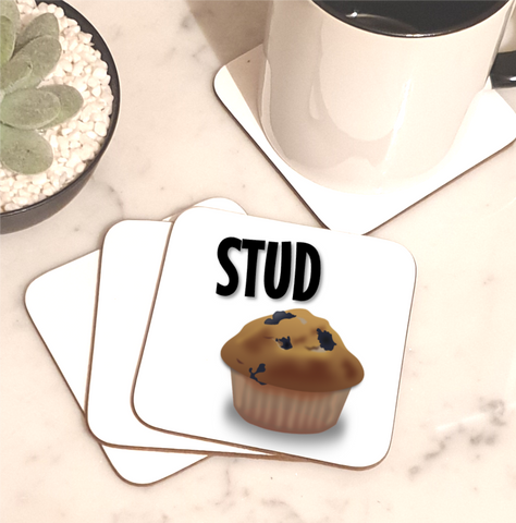 Stud Muffin Coaster