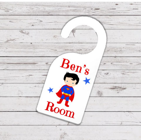 Superman Hero Door Hanger