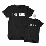 The Dad & The Son Matching T Shirts