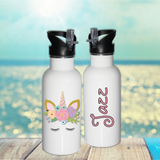 Pretty Unicorn Name Bottle - Mugged Write Off