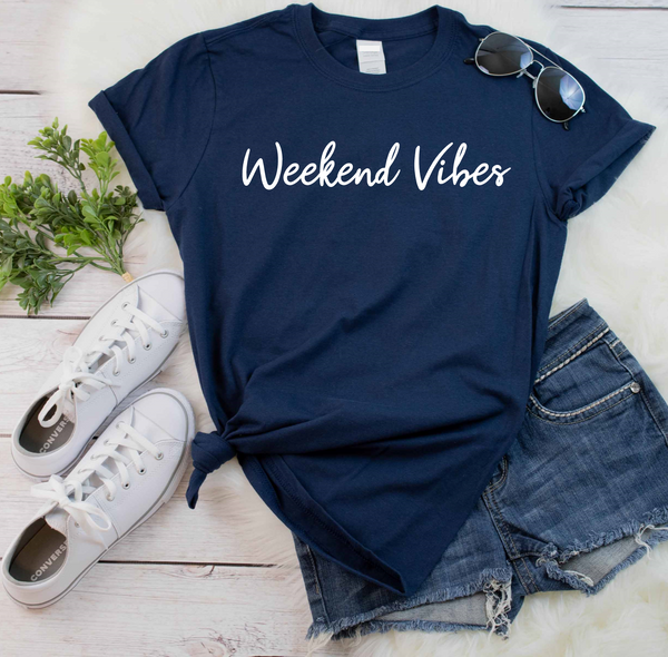 Weekend Vibes T Shirt - Mugged Write Off