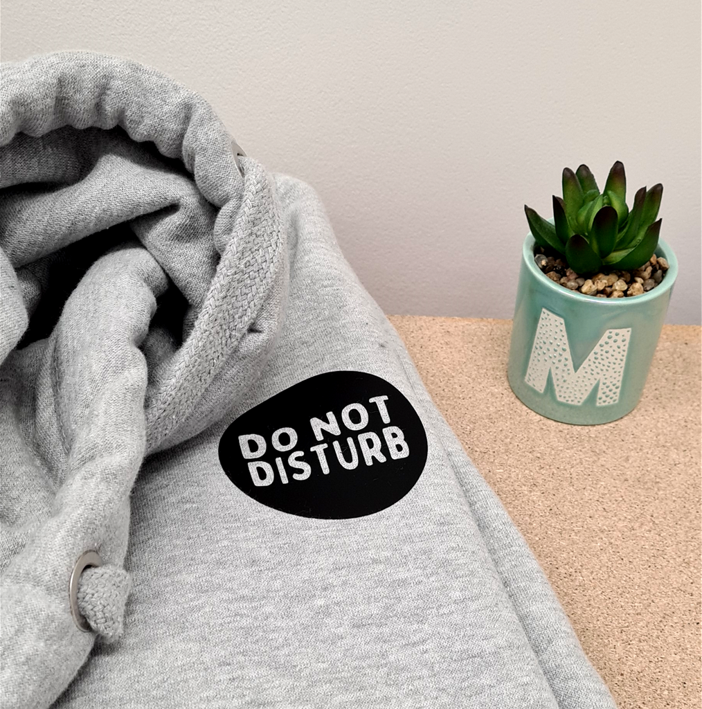 Do Not Disturb Chunky Neck Hoodie - Mugged Write Off Limited