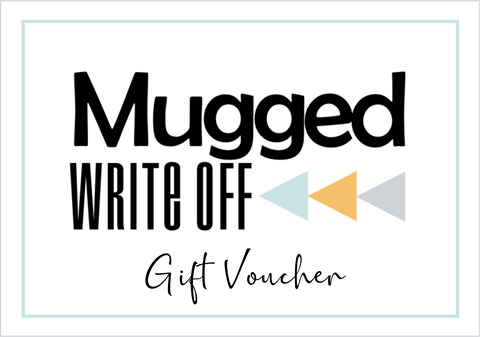 Mugged Write Off Gift Card