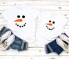 Snow Christmas Mini Me T Shirts Set - Mugged Write Off
