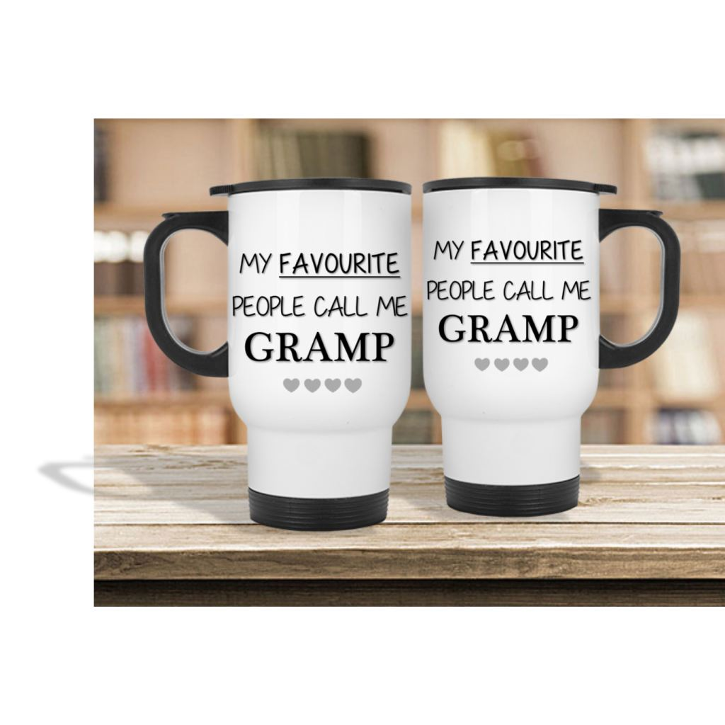 My Favourite People Call Me Gramp Mug - Mugged Write Off