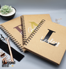 Personalised Initial Spiral Journal Notebook - Mugged Write Off