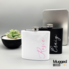 Personalised Hip Flask - Mugged Write Off