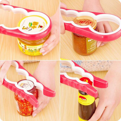 4 In 1 Guard-Shaped Jar &  Bottle Openers - NonStopDeal
