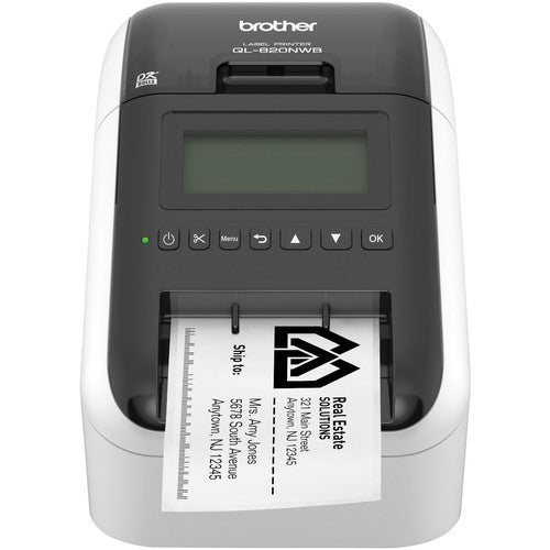 Brother QL-820NWB Wireless and Bluetooth Label Printer