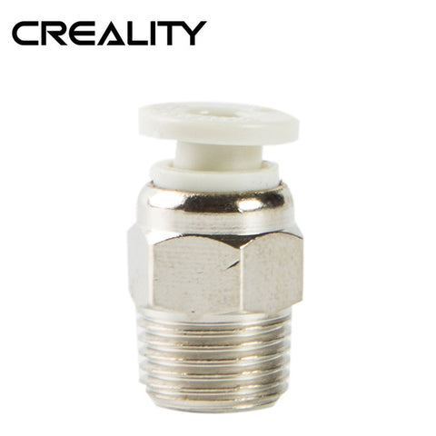Creality PC4-M10 Pneumatic Connector for Bowden Extruder on Creality CR-10 / CR-10S / Ender-3 / Ender-3 PRO