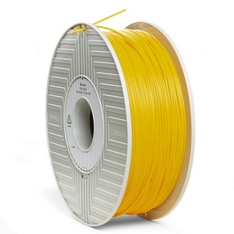 Verbatim PLA 1.75MM Yellow 1KG High Grade 3D Printer Filament