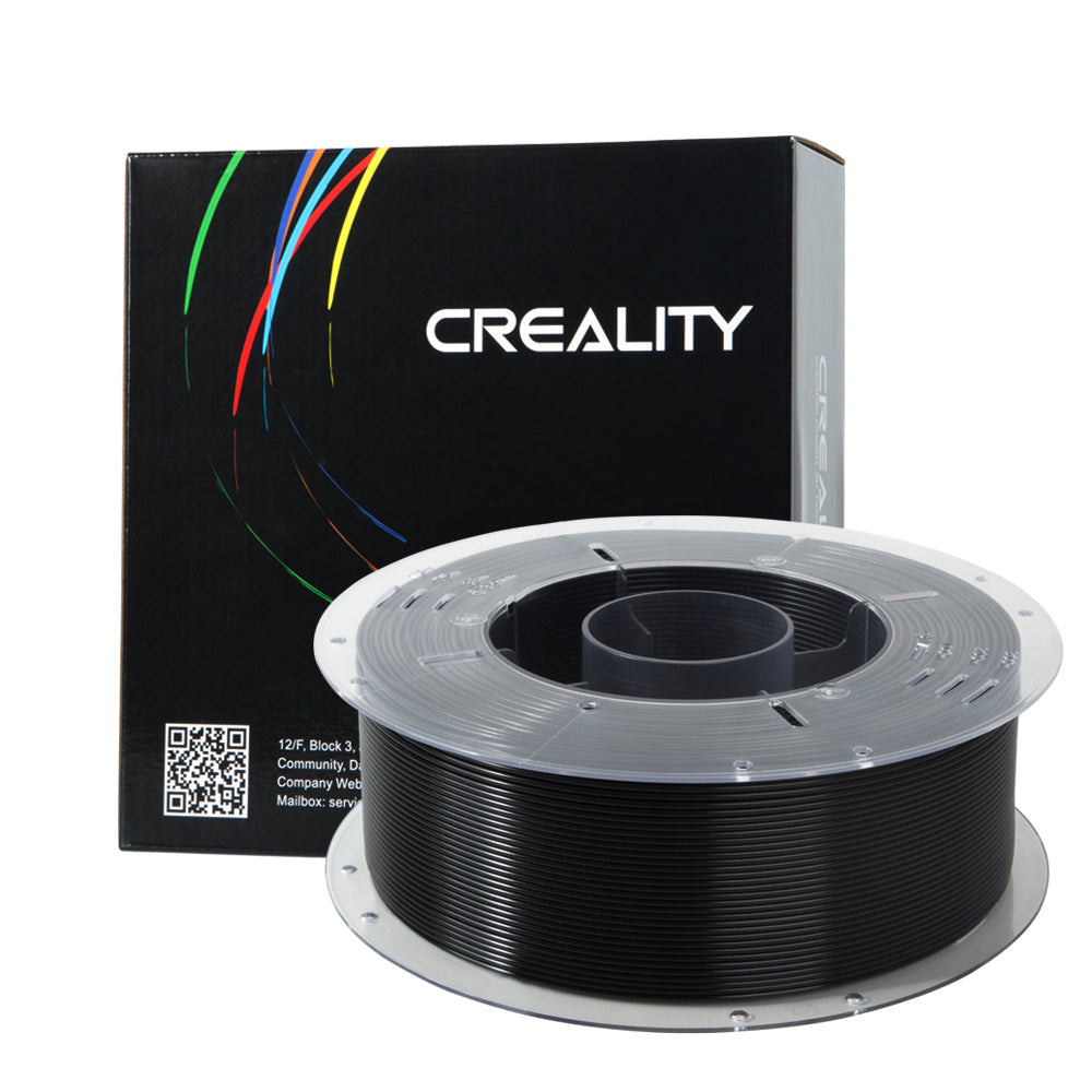 CREALITY 3D Black 1.75mm PETG Filament High Quality 1KG for FDM 3D Printer