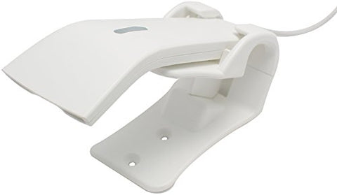 Star Micronics mPOP Handheld USB 1D Barcode Scanner with Stand - White