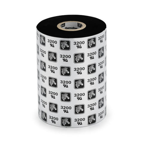 Zebra 3200 Premium Wax/Resin Thermal Transfer Ribbon 110mm x 74m