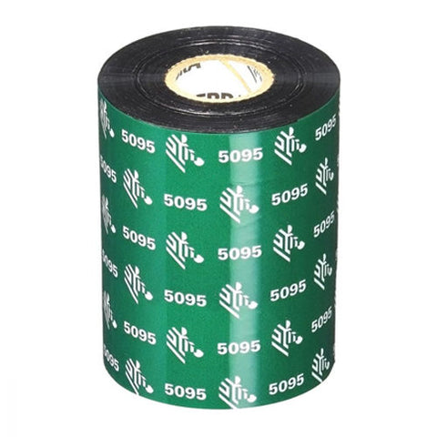Zebra 5095 High Performance Resin Thermal Transfer Ribbon 110mm x 74m