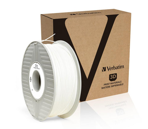Verbatim PLA 1.75MM White 1KG High Grade 3D Printer Filament