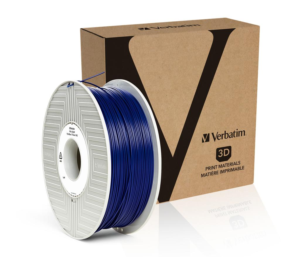 Verbatim PLA 1.75MM Blue 1KG High Grade 3D Printer Filament
