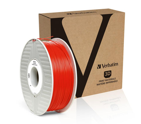 Verbatim PLA 1.75MM Red 1KG High Grade 3D Printer Filament