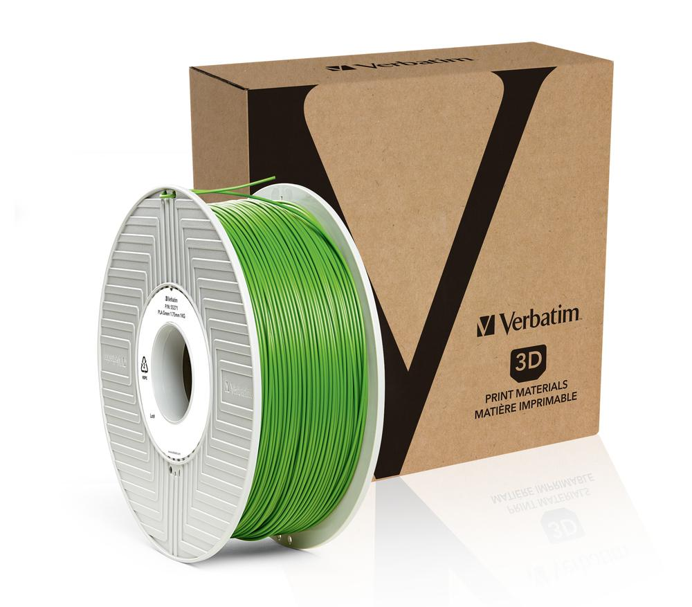 Verbatim PLA 1.75MM Green 1KG High Grade 3D Printer Filament