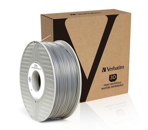 Verbatim PLA 1.75MM Silver 1KG High Grade 3D Printer Filament