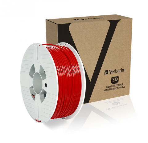Verbatim PLA 2.85MM Red 1KG High Grade 3D Printer Filament