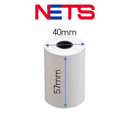 Thermal Roll for NETS (57mm x 40mm)