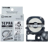 King Jim Tepra Pro Heat Shrink Tubing Label Tape Cartridge