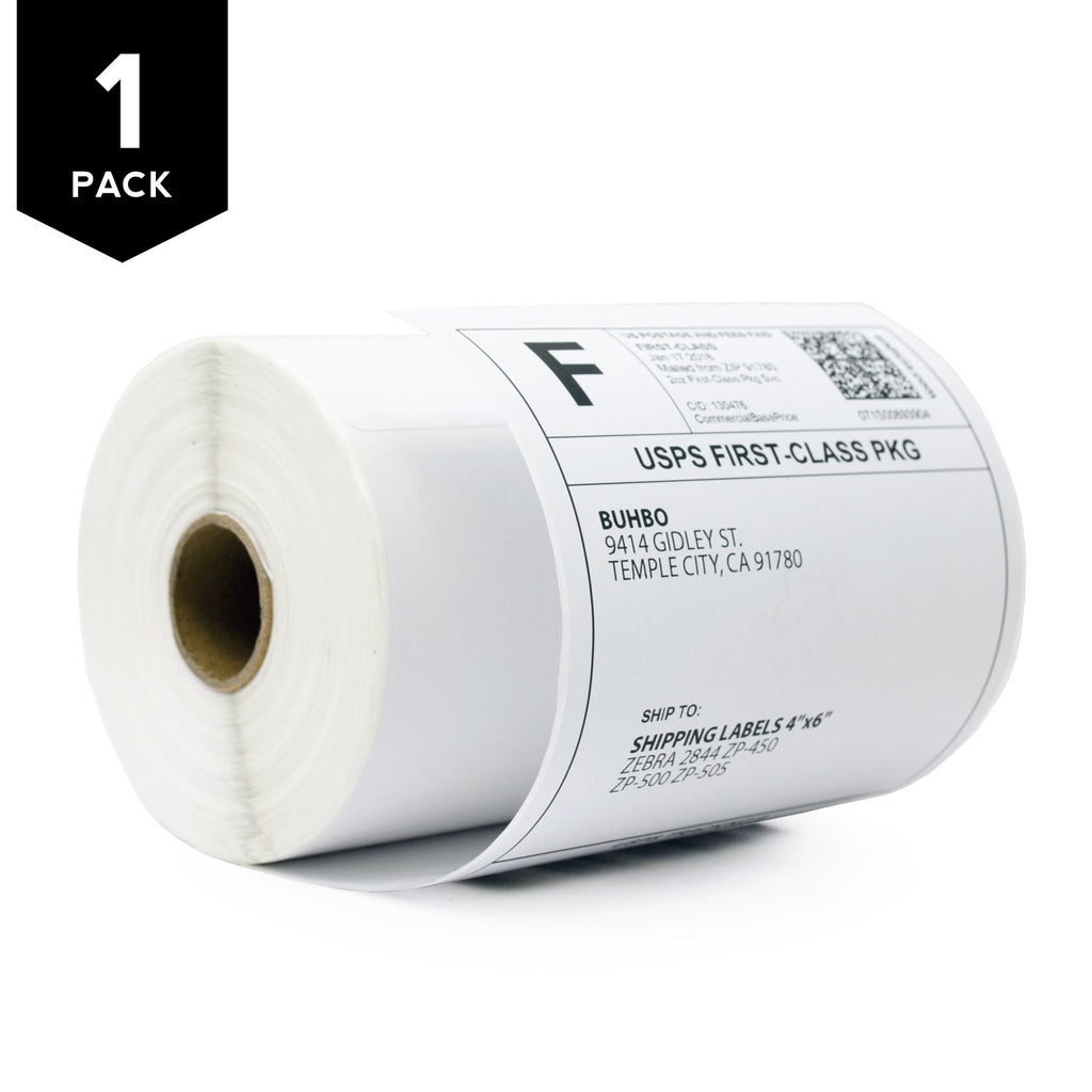 Kingly Direct Thermal Shipping Label 102mm x 152mm for Zebra and TSC