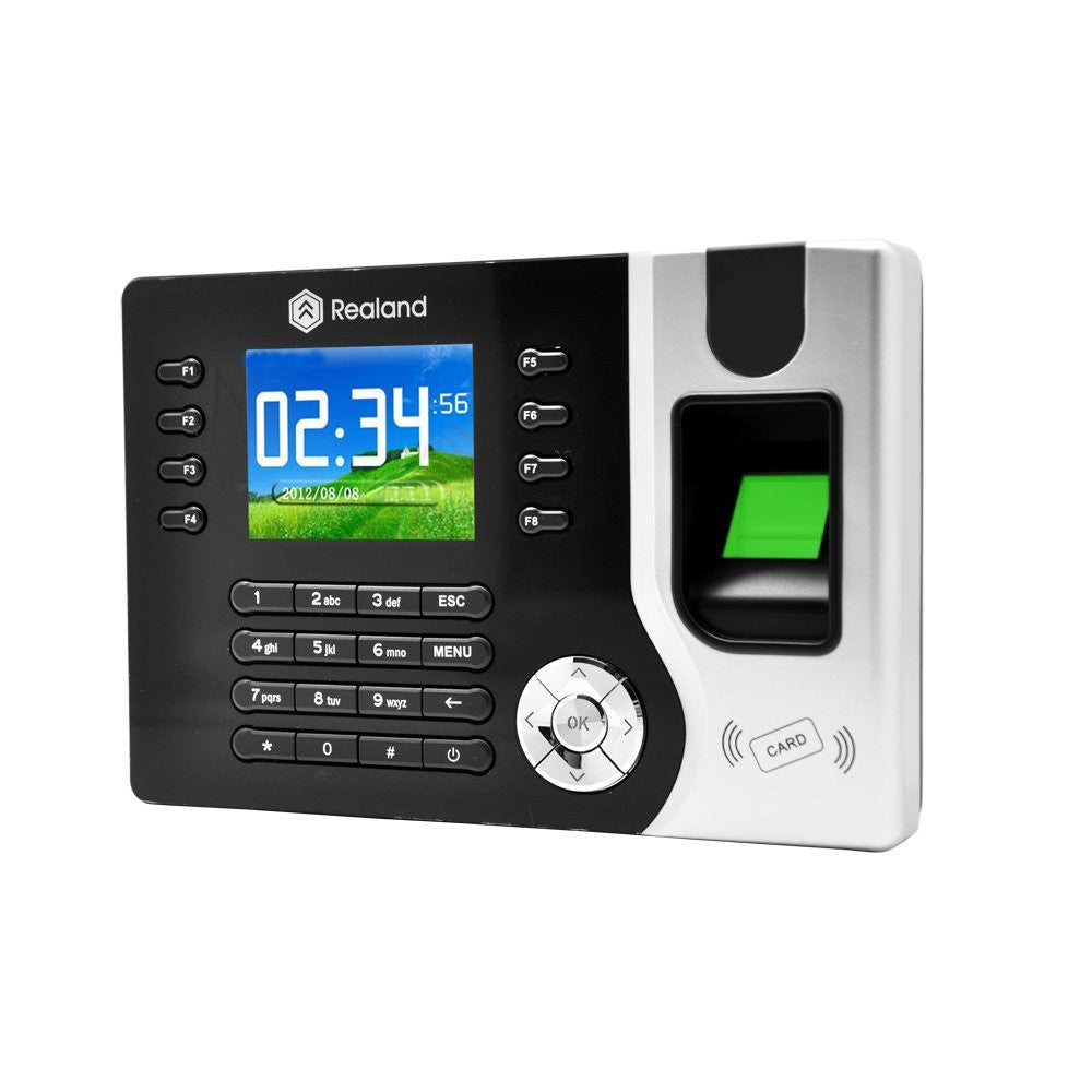 "2.4"" TFT Network Biometric Fingerprint Recorder with Card Reader"