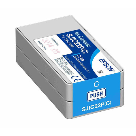Epson TM-C3510 Cyan Ink Cartridge SJIC23P(C)
