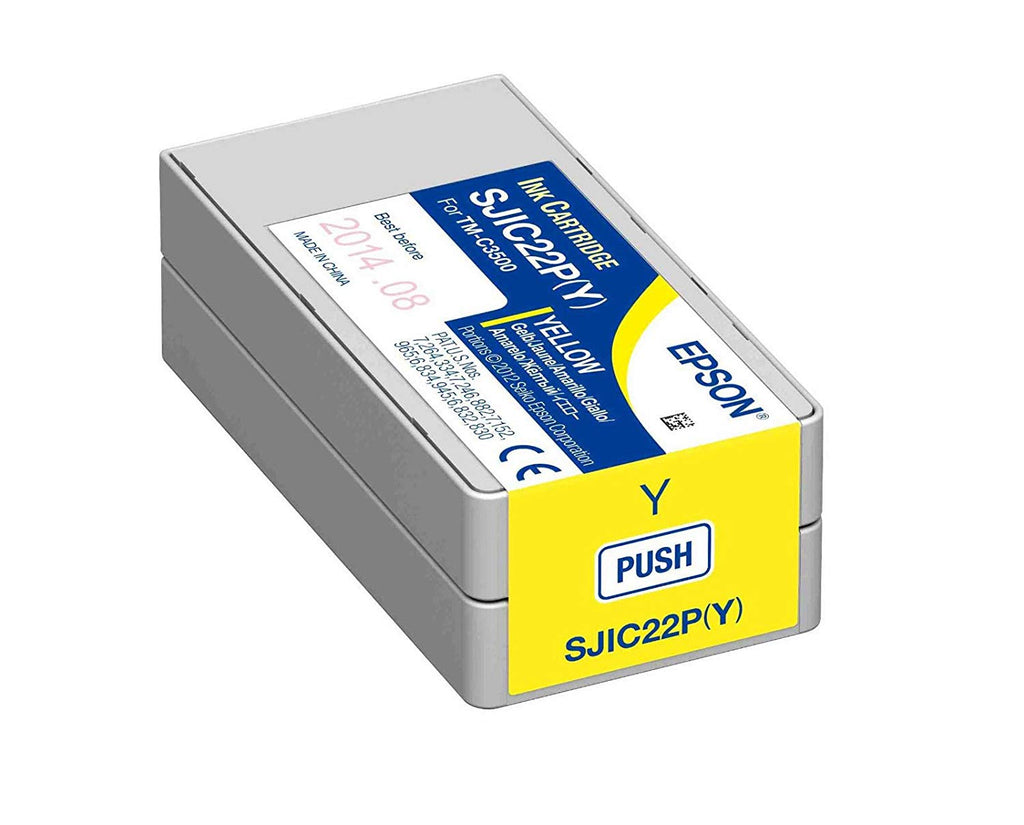 Epson TM-C3510 Yellow Ink Cartridge SJIC23P(Y)