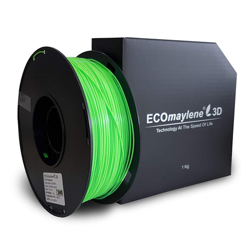 ECOmaylene3D PLA 1.75MM Caribbean Green 1KG 3D Printer Filament