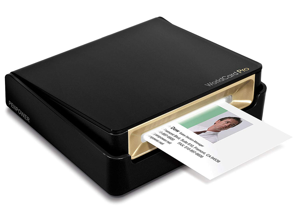 PenPower WorldCard Pro Business Card Scanner with OCR Technology
