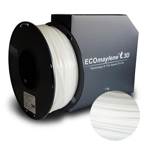 ECOmaylene3D ABS 1.75MM Almond Natural 1KG 3D Printer Filament