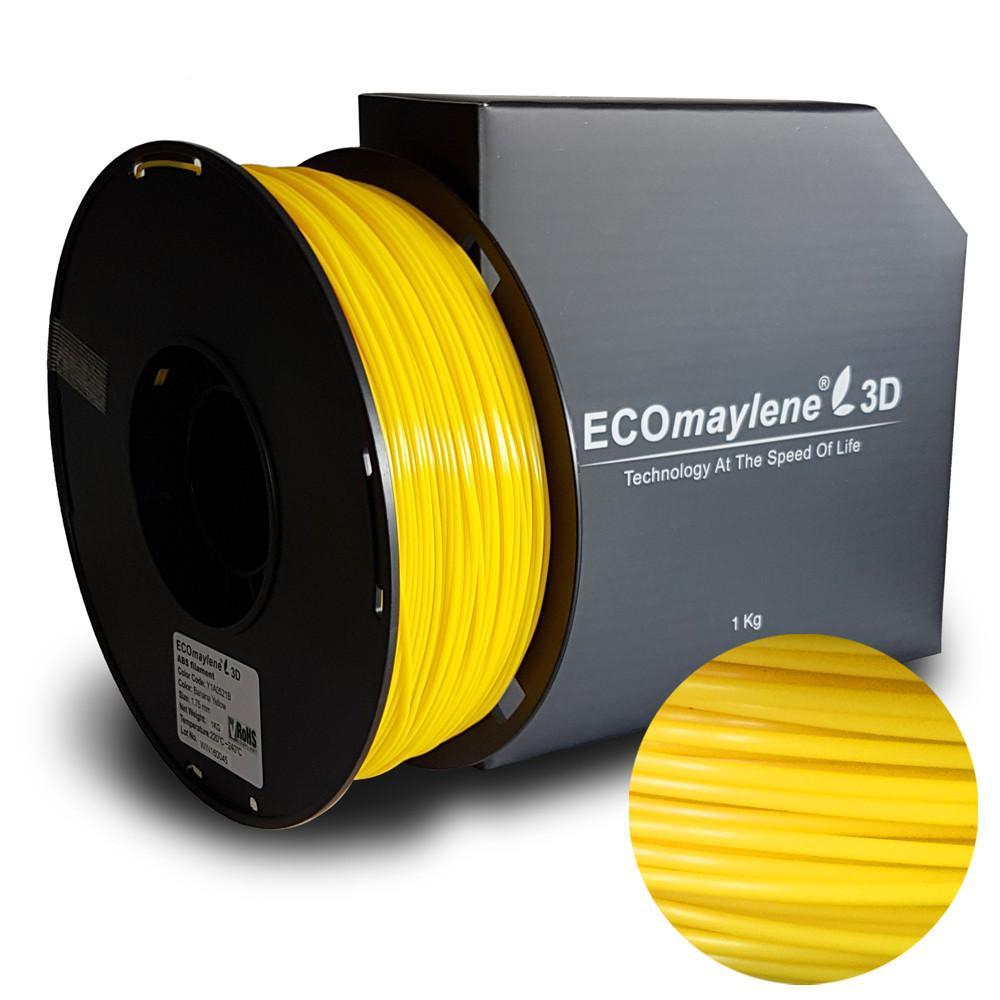 ECOmaylene3D ABS 1.75MM Banana Yellow 1KG 3D Printer Filament