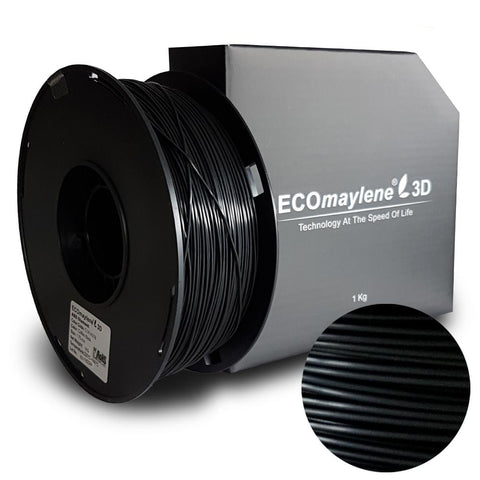 ECOmaylene3D ABS 1.75MM Coffee Black 1KG 3D Printer Filament