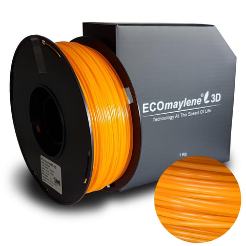 ECOmaylene3D ABS 1.75mm Tomato Orange 1KG 3D Printer Filament