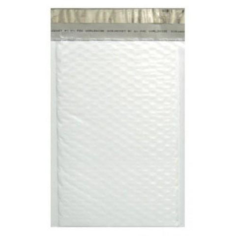White Padded Bubble Poly Mailer - 300mm x 360mm + 40mm