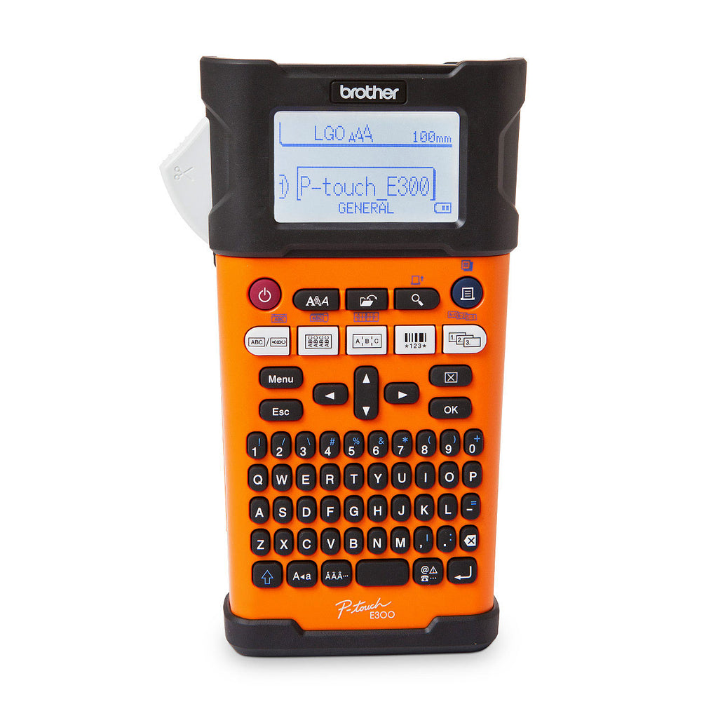 Brother P-Touch PT-E300VP Professional Handheld Electrician Label Maker