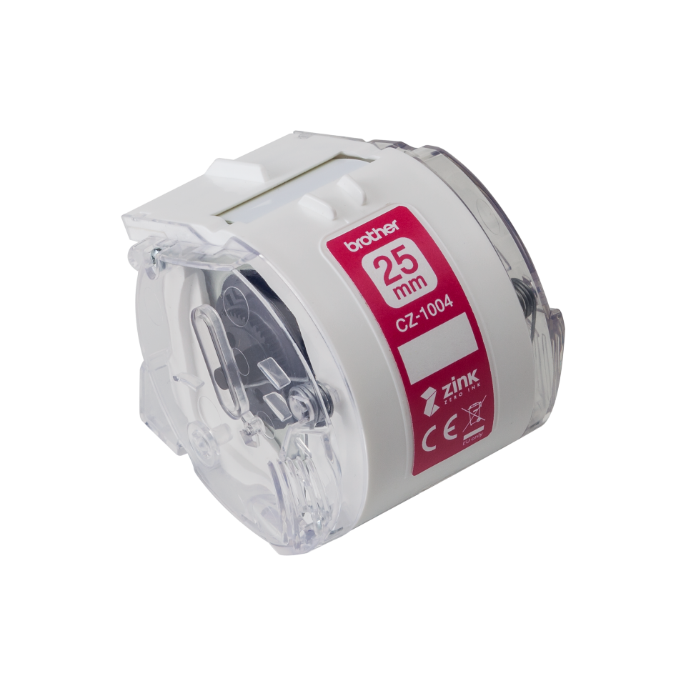 Brother CZ-1004 Full Colour Continuous Label Roll 25mm x 5m