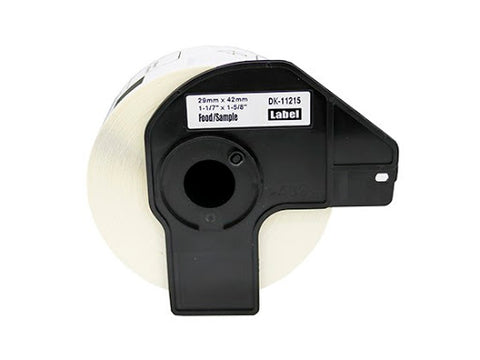 Compatible Brother DK-11215 29mm x 42mm Labels (Black On White)