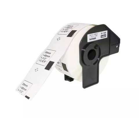 Compatible Brother DK-11220 39mm x 48mm Labels (Black On White)