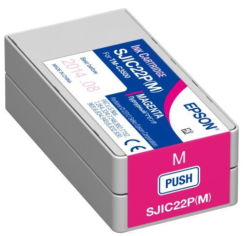 Epson TM-C3510 Magenta Ink Cartridge SJIC23P(M)