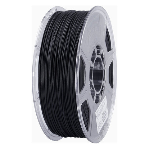 eSUN 3D PETG 1.75MM Solid Black 1KG 3D Printer Filament
