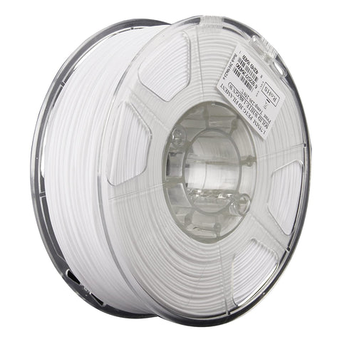 eSUN 3D PETG 1.75MM Solid White 1KG 3D Printer Filament