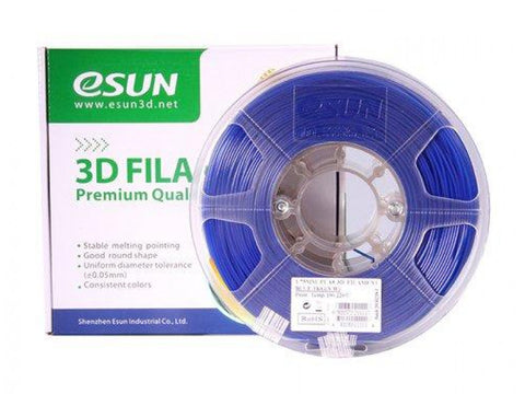 eSUN 3D PLA+ PLUS 1.75MM Blue 1KG 3D Printer Filament